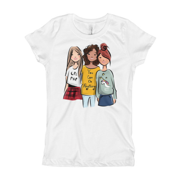 Girls Can Do Anything Girl's T-Shirt