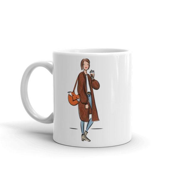 Fox Bag Mug