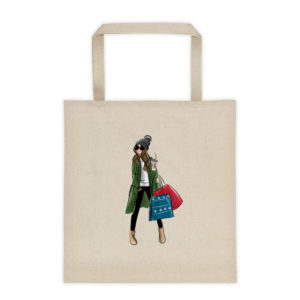 Winter Shopping Tote bag