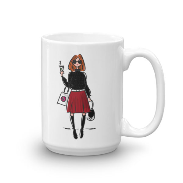 Girl with coffee Mug