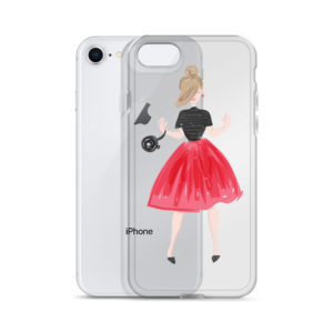 Funny Girl iPhone Case