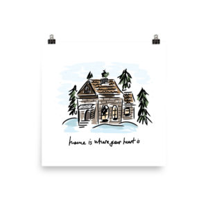 Home is where your heart is Poster