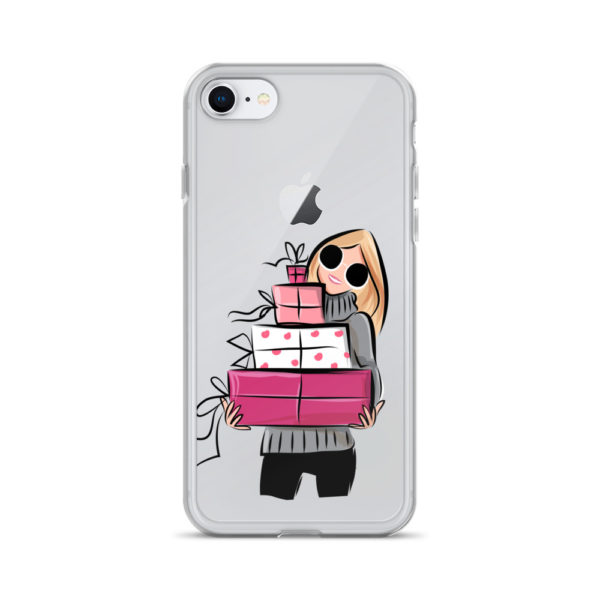 Let me be your Santa iPhone Case