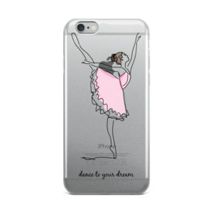 Dance to your dream iPhone Case