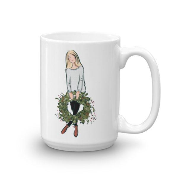 Holiday Wreath #3 Mug