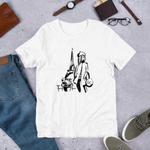 Paris Short-Sleeve Unisex T-Shirt