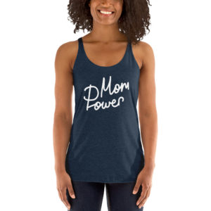 Mom Power Women's Racerback Tank