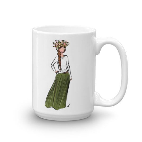 Flower Crown Mug