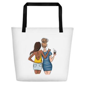 Summer is for Friends Beach Bag