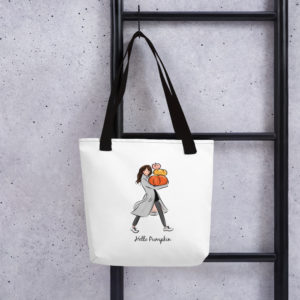 Hello Pumpkin Tote bag