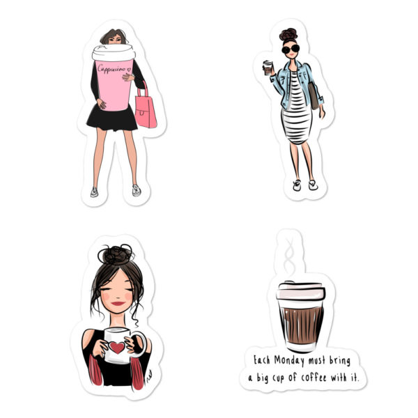 Coffee Lovers Bubble-free stickers