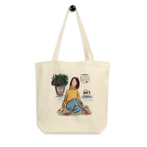 Fall Vibes Eco Tote Bag