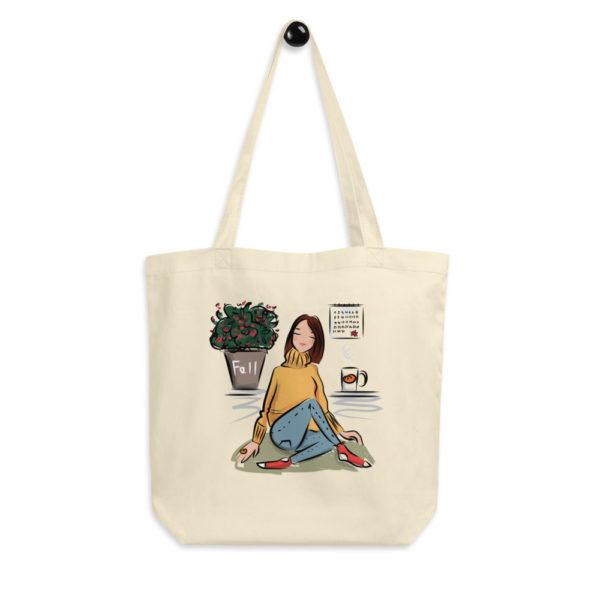 Fall Vibes Eco Tote Bag