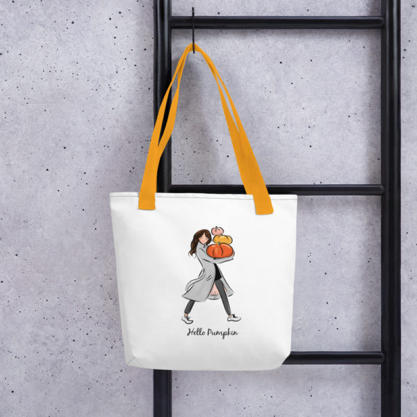 Hello Pumpkin Tote bag