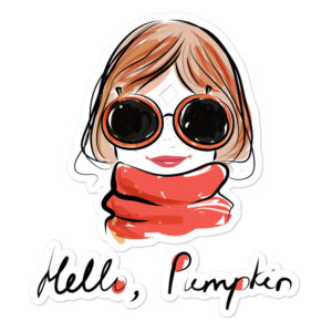 Hello Pumpkin Bubble-free stickers