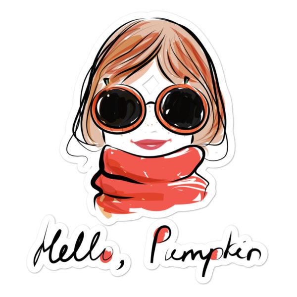 Hello Pumpkin Bubble-free stickers