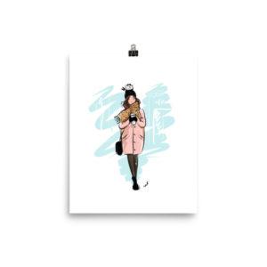 """Cozy November 8""""x10"""" Poster"""